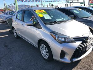 2015 Toyota Yaris $500 down delivers habla espanol for Sale in Las Vegas, NV