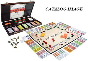 2006 Monopoly 1935 Deluxe First Edition Classic Reproduction WOOD EDITION SEALED for Sale in Tampa, FL