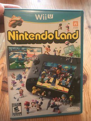 Wii U Nintendo Land for Sale in Renton, WA