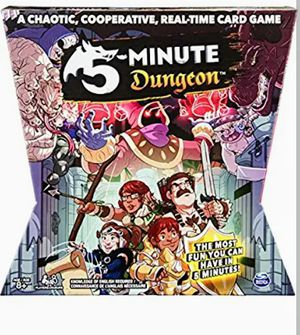 Spin Master Games 5 - Minute Dungeon, Fun Card Game for Kids & Adults for Sale in San Diego, CA