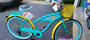 "Margaritaville women's 26"" 7 speed Cruiser Bike BRAND NEW for Sale in Romeoville, IL"