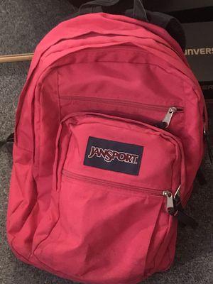 Jansport Big Student hot pink backpack for Sale in Melrose Park, IL