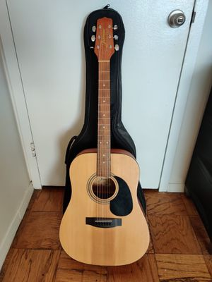 Acoustic guitar with bag and strap for Sale in ROXBURY CROSSING, MA