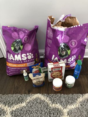 New dog food bag + more for Sale in Sunbury, OH