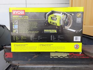 Slashed price: Ryobi 1600 psi electric power washer for Sale in Garden Grove, CA