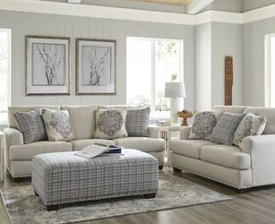 Brand New Fabric Sofa And Loveseat Including Pillows . $49 Down Payment for Sale in Dallas,  TX