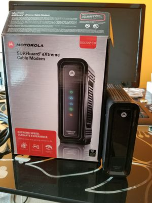 Cable modem Motorola Surfboard for Sale in Clarksburg, MD