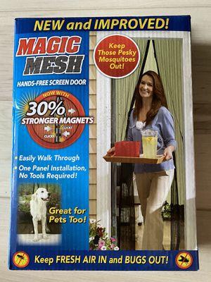 New Magic Mesh Screen Door for Sale in San Diego, CA