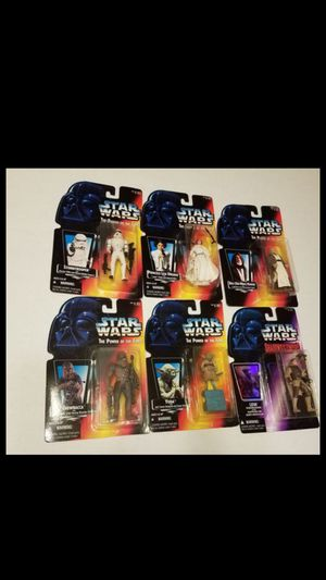 STAR WARS VINTAGE COLLECTABLES AND NEWER FIGURES COMICS PLAY SETS MODELS for Sale in Kissimmee, FL