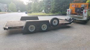 16 ft Bed Trailer 21 ft long total for Sale in Goldsboro, PA
