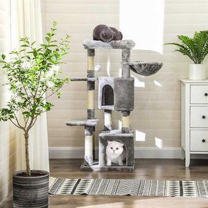 47' Light Grey Cat Tree for Sale in Long Beach, CA