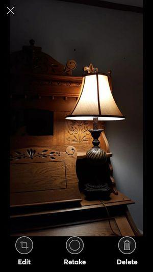 NICE HEAVY ORNATE LAMP for Sale in Lynchburg, VA