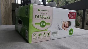 Newborn Diapers 108ct for Sale in Redondo Beach, CA