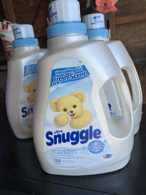 Snuggle Sensitive Liquid Fabric Softener for Sale in Rialto, CA