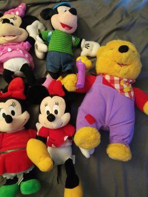 Disney Stuffed animal bundle for Sale in Glen Burnie, MD