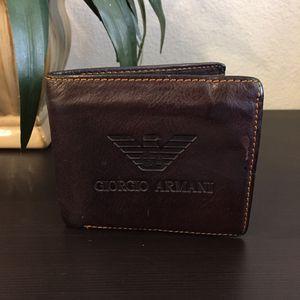 Giorgio Armani Wallet for Sale in Dallas, TX