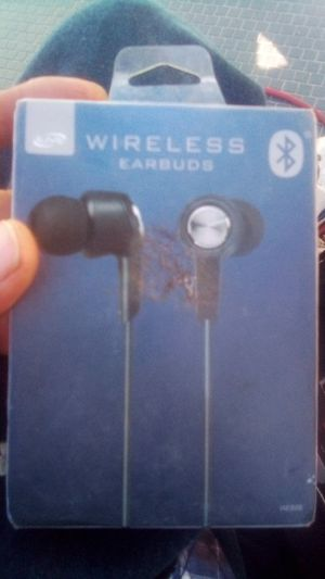 Wireless earbuds new unopened for Sale in Tempe, AZ