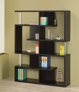 5 Tier Bookcase in Black and Chrome $235- Lowest Prices Ever! for Sale in Sacramento, CA