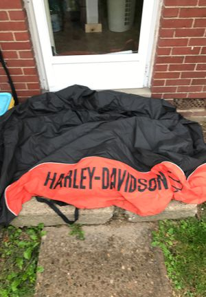 Harley Davidson motorcycle cover fits most bikes for Sale in Homestead, PA