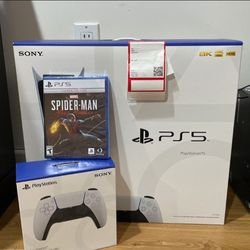 Playstation 5 Bundle Spider Man +controller for Sale in Miami,  FL