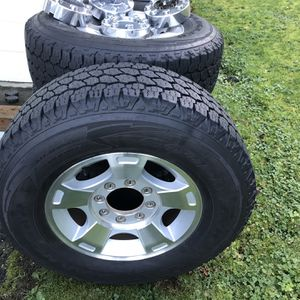 F350 8 Lug Wheels and Tires for Sale in Port Orchard, WA