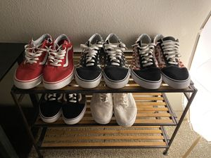VANS LOT FOR SALE $100 FOR ALL 5 PAIRS for Sale in Renton, WA
