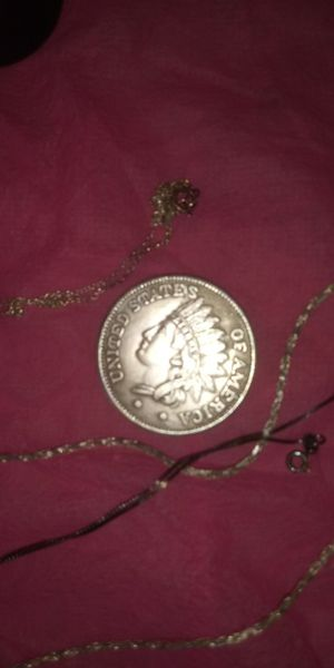 Silvery jewlry and rare silver 1891 coin for Sale in Lawrenceville, GA