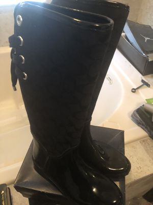 Coach boots like new size 8 b for Sale in Kissimmee, FL