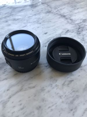 Canon Lens EF 50mm f/1.8 for Sale in Brooklyn, NY