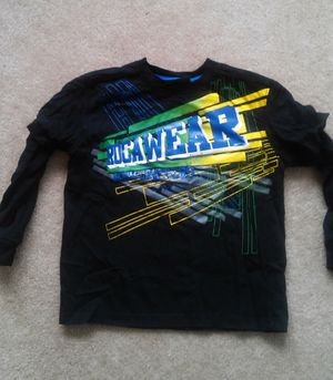 Boys size 7 ™Rocawear lrg long sleeve shirt for Sale in Falls Church, VA