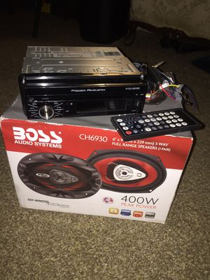 Power acoustic flip out and 6x9 speakers for Sale in Washington, DC