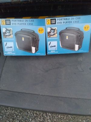 2 Portable dvd player traveling cases for Sale in Martinez, CA