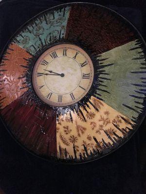 Decorative wall clock for Sale in Castro Valley, CA