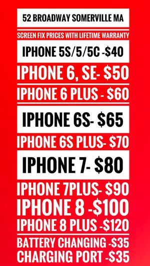 iPhone Screen for Sale in Somerville, MA
