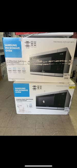 Microwave Samsung oven..price x each for Sale in Huntington Park, CA