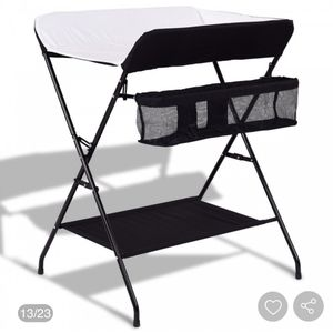 Baby Storage Folding Diaper Changing Table for Sale in Riverside, CA