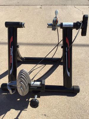 TRAVEL TRACK STATIONARY BIKE RACK WORKS GREAT for Sale in Phoenix, AZ