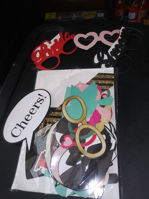 Wedding photo booth props for Sale in Spring Hill, FL
