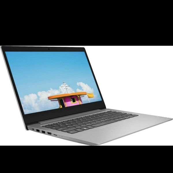 "2020 Lenovo IdeaPad 14"" Laptop Computer, AMD A6-9220e 1.6GHz, AMD Radeon R4, AC WiFi, Microsoft Office 365, Platinum Gray, Windows 10 Home"