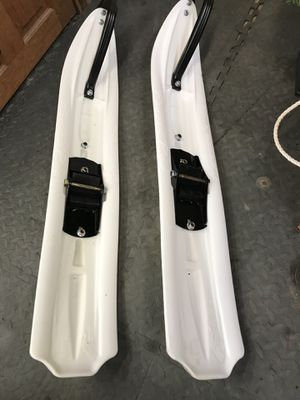 Slp powder pros (snowmobile skis) for Sale in Portland, OR