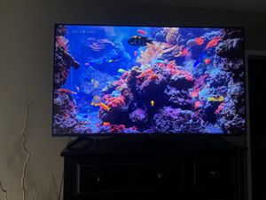 """TCL 55"""" Roku Ultra 4K tv barely used! for Sale in Huntington Beach, CA"""