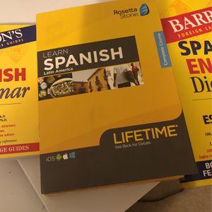 Rosetta Stone Learn Spanish for Sale in Waldorf, MD