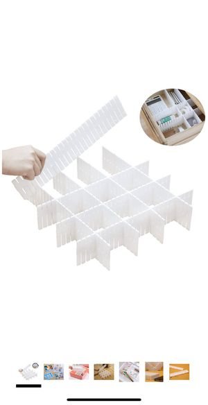 DIY 8pcs Plastic Dividers for Sale in Inglewood, CA