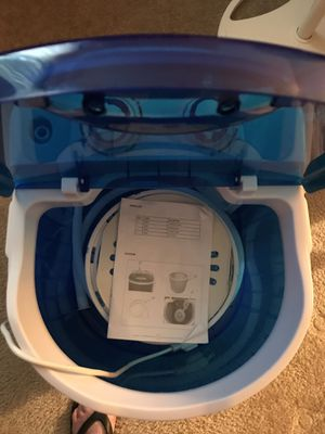 Camping washing machine! Like new ! Barely used do not camp any longer. for Sale in O'Fallon, MO