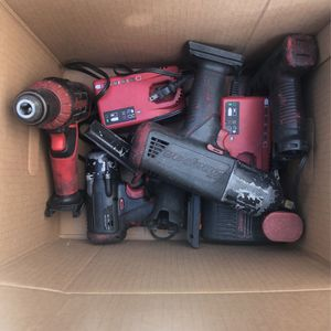 Snap on Tools Cordless 1/2 Impact 3/8 Drill Etc. for Sale in Whittier, CA