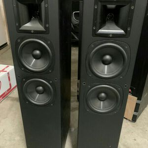 Klipsch SF2. 100 Watt Tower Speakers Great Sound for Sale in Chino, CA