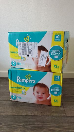 Size 2 Pampers Swaddlers Diapers for Sale in Fresno, CA