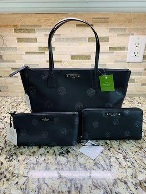Kate Spade Glitter Polka Dot Black Set for Sale in Crestview, FL