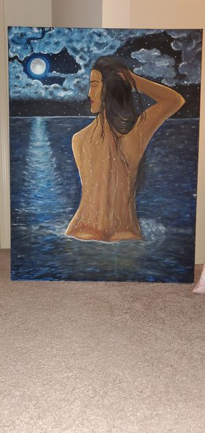 Original oil Painting (40inches by 30 inches) for Sale in Chicago, IL