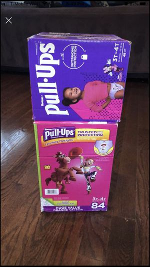 Huggies pull-ups 3t-4t for Sale in Oceanside, NY